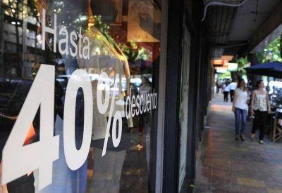 Las ventas minoristas bonaerenses cayeron un 2,9 por ciento en febrero