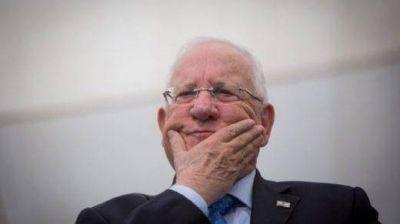 """Presidente de Israel """"Los horrores del Holocausto obligan a Israel a ayudar a los civiles sirios gaseados"""""""