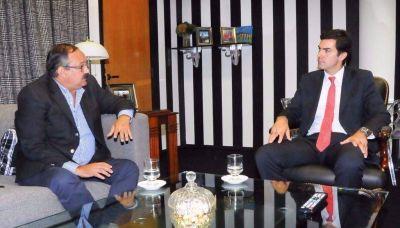 Urtubey y Leavy se reunieron y hablaron de la situación política de Salta y el país