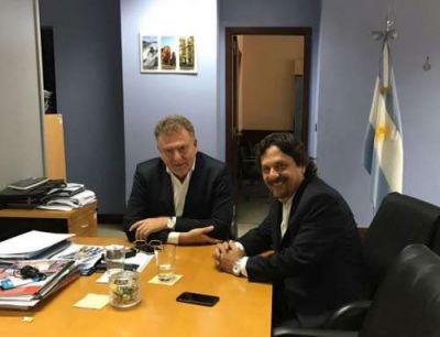 Sáenz se reunió con funcionario de Nación para analizar futuras obras en Salta