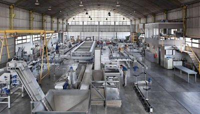 El paro se notó fuerte en el sector industrial
