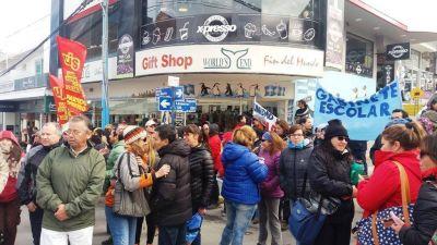 El paro nacional de la CGT y su réplica en la ciudad de Ushuaia