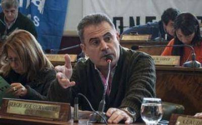 """Sergio Oyhamburú: """"El paro fue contundente"""""""