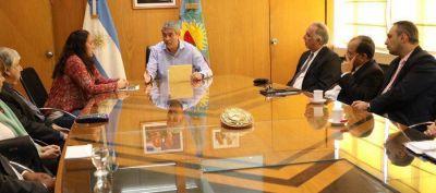 Ferraresi se reunió con referentes de diferentes credos de Avellaneda
