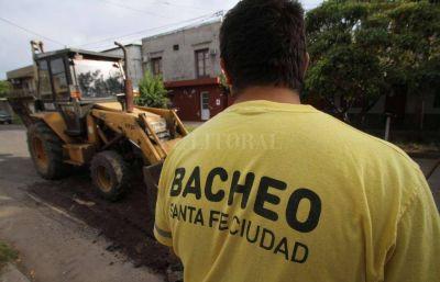 La Municipalidad moderniza su planta de asfalto para tapar los baches
