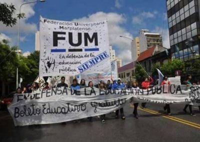 Federación Universitaria criticó los desmanejos con el boleto de colectivos