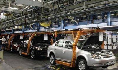 Grave descenso de la producción automotriz