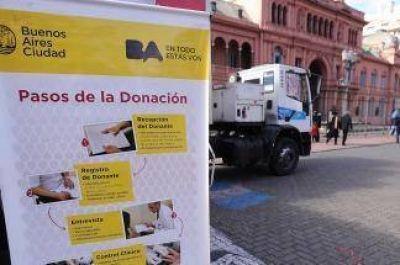 Organizan una jornada de donación de sangre y de vacunación