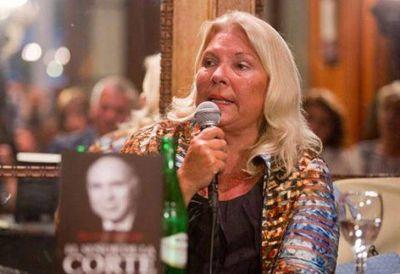 Elisa Carrió volvió a cruzar a Ricardo Lorenzetti