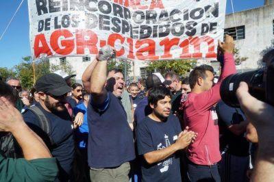 Ante un gran operativo policial y tras 82 días de toma, los trabajadores de AGR levantaron la ocupación