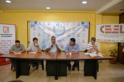 Eldorado: el municipio traspasó el servicio de desagües cloacales a la CEEL