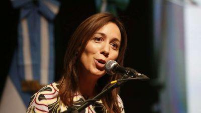 María Eugenia Vidal avanza con multas de 300 millones a los gremios docentes