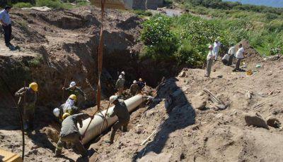 Mejoran el servicio de agua potable en un 70% de lo que estaba afectado