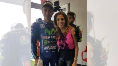 Intensa actividad de la Gobernadora durante el MotoGP