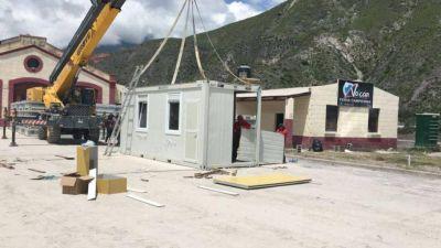 Amaya ofrece casas container para evacuados