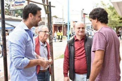 Lacunza, Mohadeb y Costa timbrearon en Escobar
