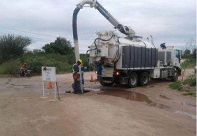 La Provincia inicia importante obra de red cloacal en la Capital