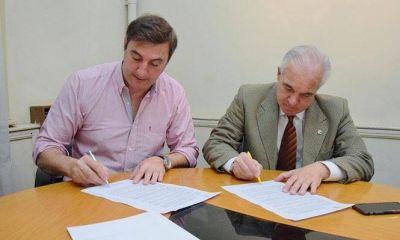 El Colegio de Arquitectos - Distrito 5 firmó acuerdo de cooperación con el Municipio de Luján