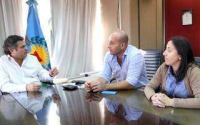 El Intendente de Quilmes se reunió con el ministro de Desarrollo Social provincial