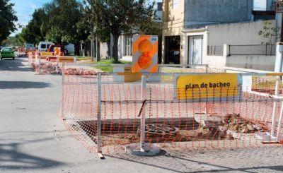 Plan de bacheo: trabajos previstos para el lunes