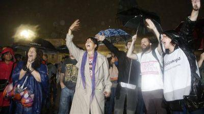 Qué dijo el gobierno porteño sobre el desalojo de los gremialistas docentes