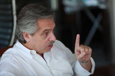 Que sí, que no: Alberto Fernández asegura que no rompió con Massa
