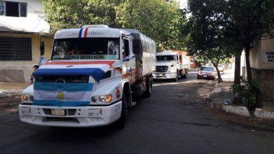 Colaboración de Paraguay a la provincia de Chubut por las inundaciones