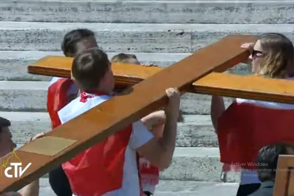 JMJ: los jóvenes de Cracovia entregan la cruz a los jóvenes de Panamá