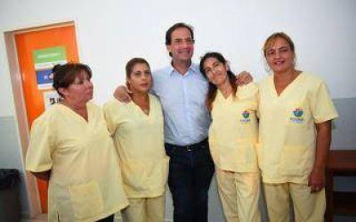 Escobar inauguró una moderna área de odontología en Maquinista Savio