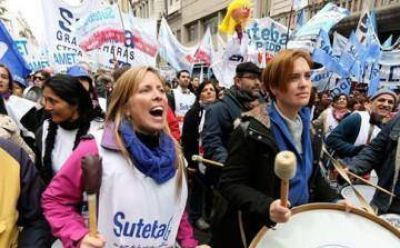 Pese a la nueva ofensiva de Vidal, los gremios docentes decidieron limitar los paros