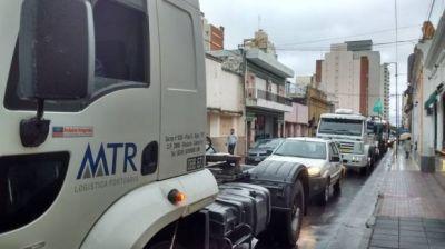 Se solucionó anoche el conflicto con los camioneros
