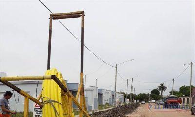 La próxima semana habilitan el gas natural en un barrio libreño y en mayo concluyen la red céntrica