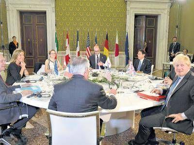 En el G-7 presionan a Rusia
