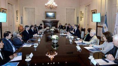 El Presidente se reunió con el espacio de diálogo Argentina 2030