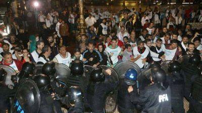 La Regional Sur de ATECh repudió la represión docente en Buenos Aires