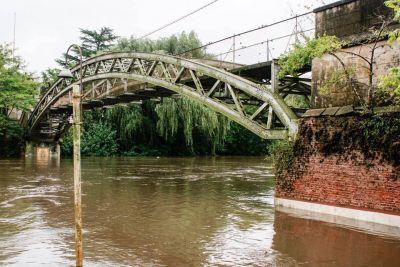Río Luján: el protocolo de emergencia sigue activo