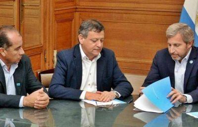 Peppo celebró el convenio para ampliar la red de agua potable en Las Breñas