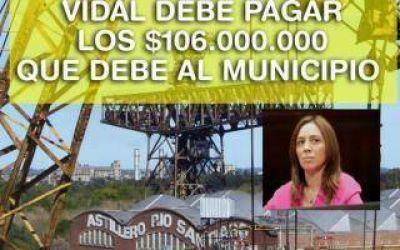 Ensenada insiste con una deuda de provincia por Astilleros: