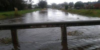 El Municipio relaciona el desborde de arroyos con la falta de limpieza