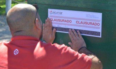 Empresas de la región fueron clausradas por ACUMAR por contaminación