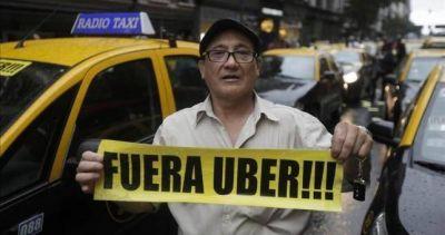 Victoria tachera: Uber no podrá trabajar en el país