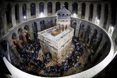 El Santo Sepulcro: La restauración de la hermandad entre tres comunidades católicas