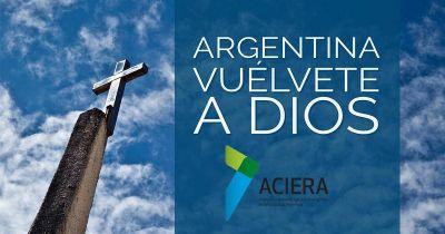 Argentina, vuélvete a Dios