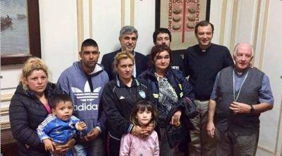 La Comisión Episcopal de Pastoral Social y la Comisión Nacional de Justicia y Paz recibieron a miembros del merendero