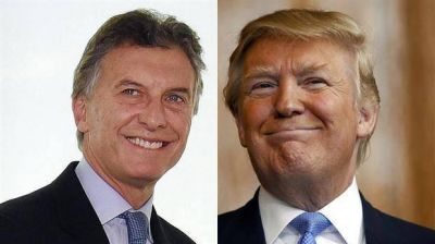 La Casa Blanca confirmó la reunión de Donald Trump y Mauricio Macri para