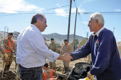 Nación, Provincia y Municipio continúan trabajando codo a codo