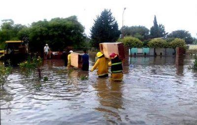 Inundación: 27 pueblos piden a Nación 65 millones