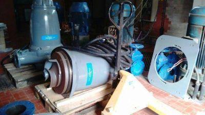 Cloacas: inversión millonaria para nuevas bombas