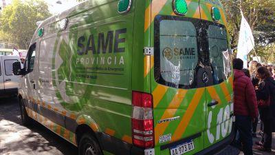 """Blanco: """"Con el SAME tenemos el control directo del sistema de emergencia"""""""