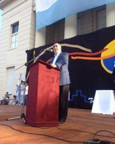 """""""Sobreponernos a las adversidades está en la genética de los trenquelauquenses"""", dijo el intendente Fernández"""